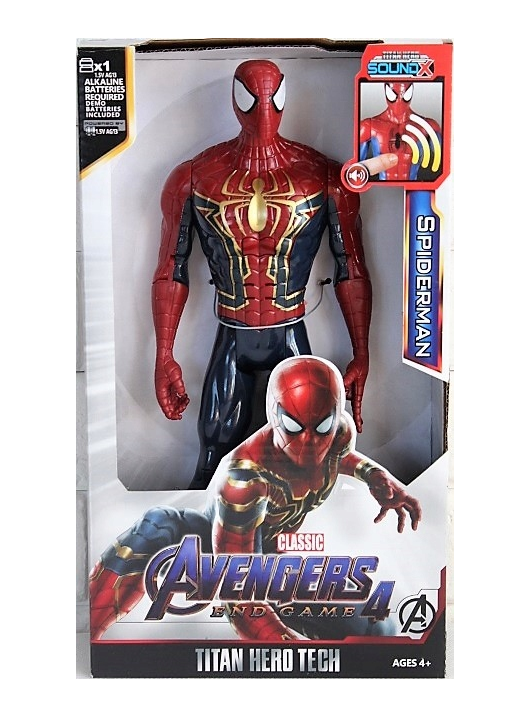 Spiderman postavička Avengers 4 FIGURE