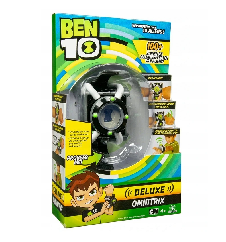 BEN 10 OMNITRIX DELUXE so zvukmi